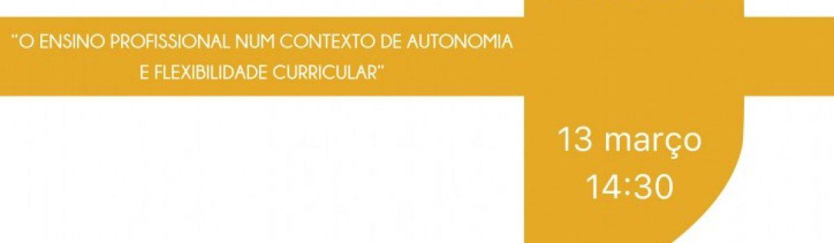 O Ensino Profissional num Contexto de Autonomia e Flexibilidade Curricular